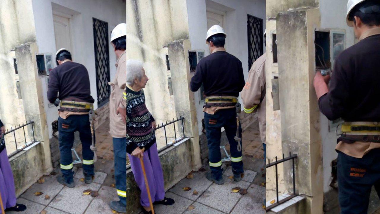Edenor dejó sin luz a una jubilada de 91 años que no pudo pagar la tarifa