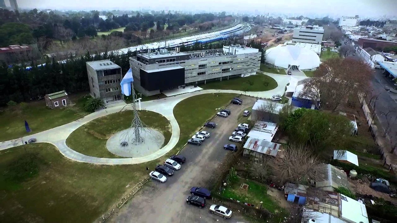 El Campus de UNSAM desde altura