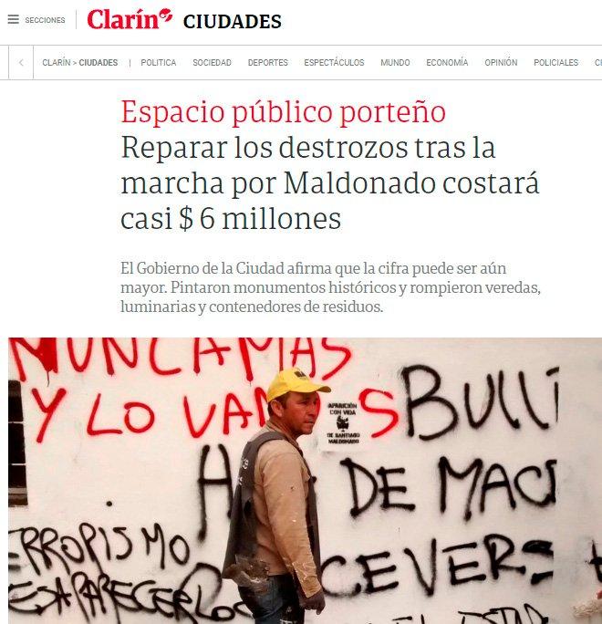 Diario Clarín 2/09/2017