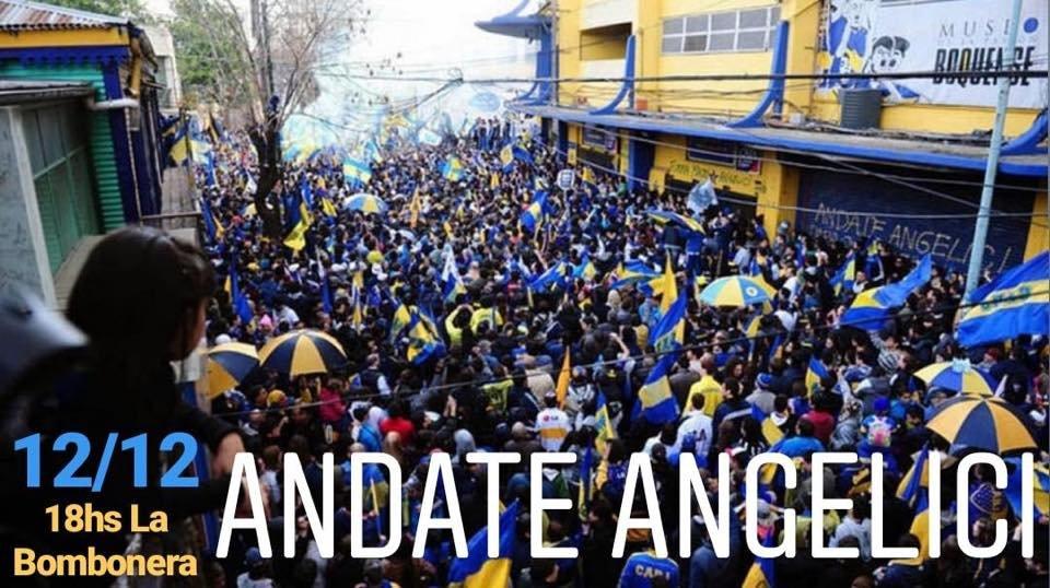 La convocatoria de hinchas de Boca contra Angelici