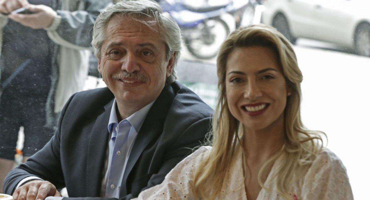 Alberto Fernández y Fabiola Yañez.