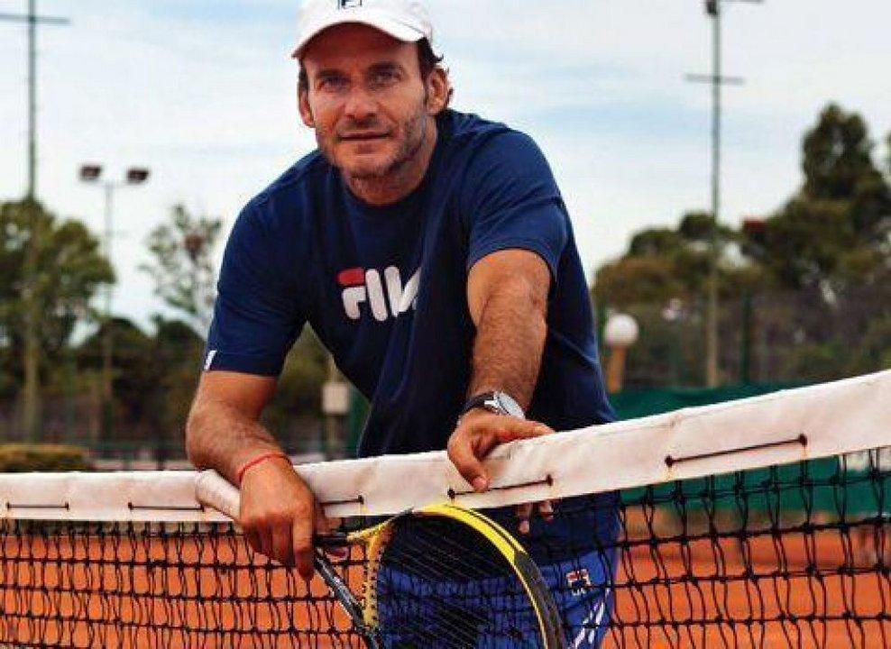 Luis Lobo, ex tenista y actual funcionario porteño